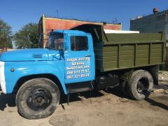Cargo transportation ZIL, KAMAZ