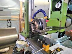Horizontal boring spindle, milling, turning