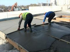 ISOLITE foam concrete. Aerated concrete screed on the roof. Warming. Deviating