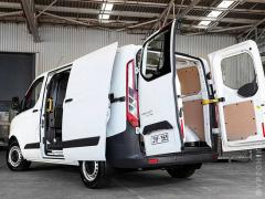 Plywood sheathing for vans