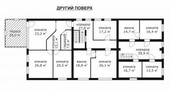 Production and residential complex 1000 sq.m + land 1.25 hectares