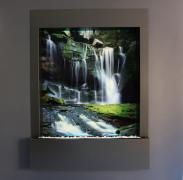 Водопады по стеклу от дизайн студии Романа Москаленко