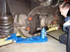 Wheel lathe 1AK200 portable